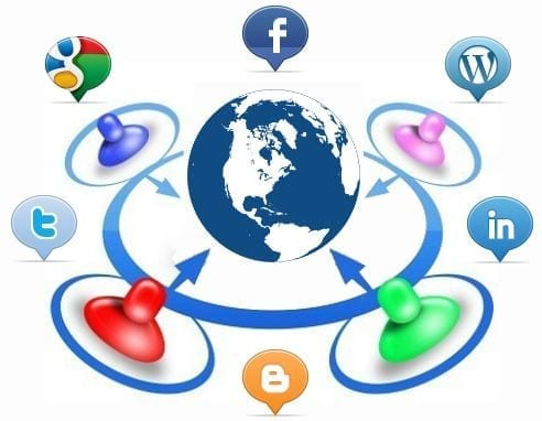 Infografía uso redes sociales países hispanohablantes
